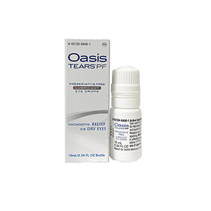 Oasis Tears PF- 10mL (0.33mL)