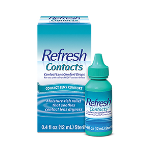Refresh Contacts® Contact lens comfort drops