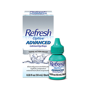 Refresh Optive® Advanced Lubricant Eye Drops