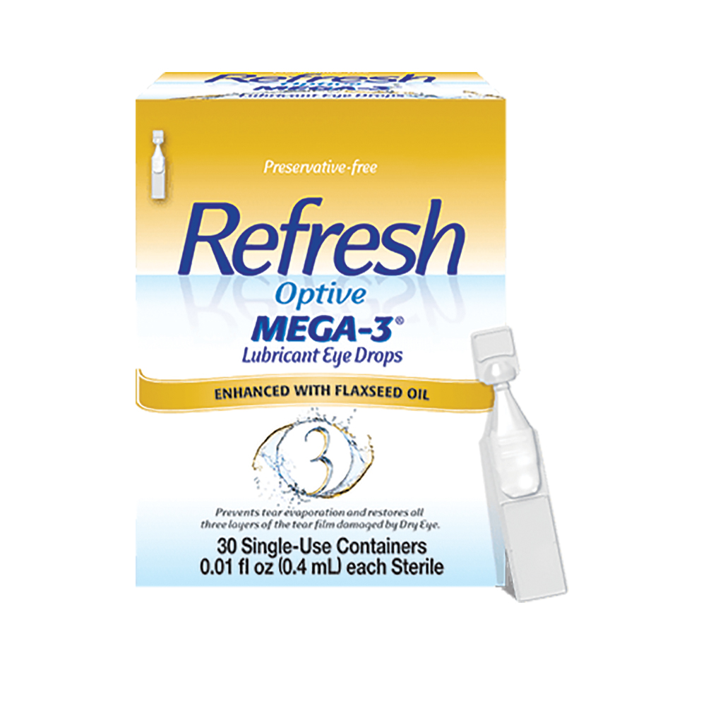 Refresh Optive® MEGA-3 Lubricant Eye Drops