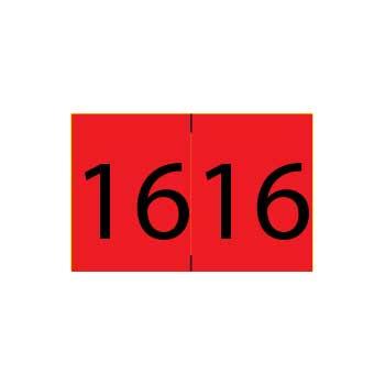 Year 2016 End Tab Folder Labels