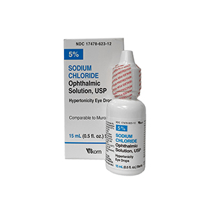 Sodium Chloride 5% Solution- Akorn