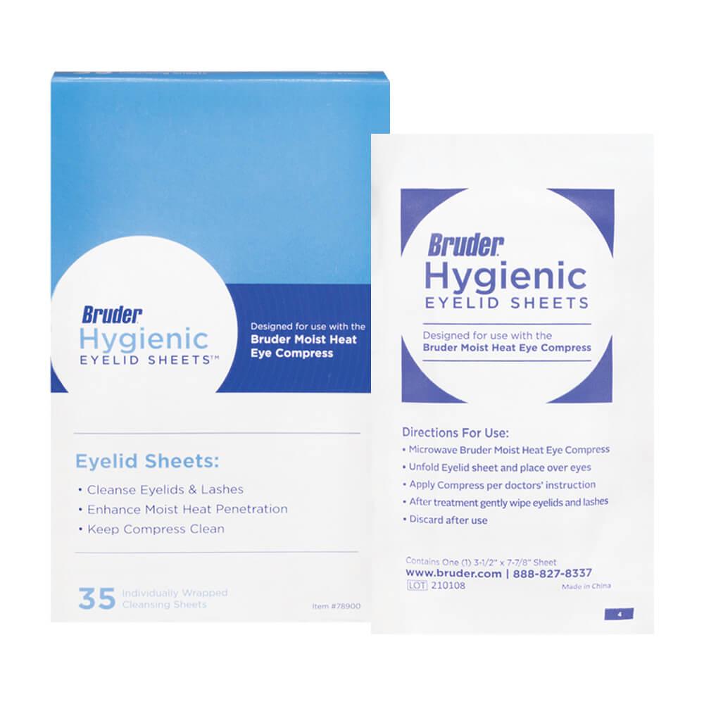 Bruder Hygienic Eyelid Sheets