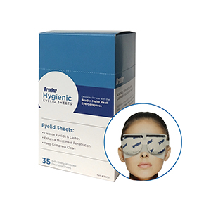 Related Product: Bruder Hygienic Eyelid Sheets