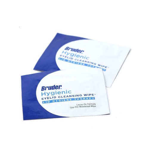 Related Product: Bruder Hygienic Eyelid Cleansing Wipes
