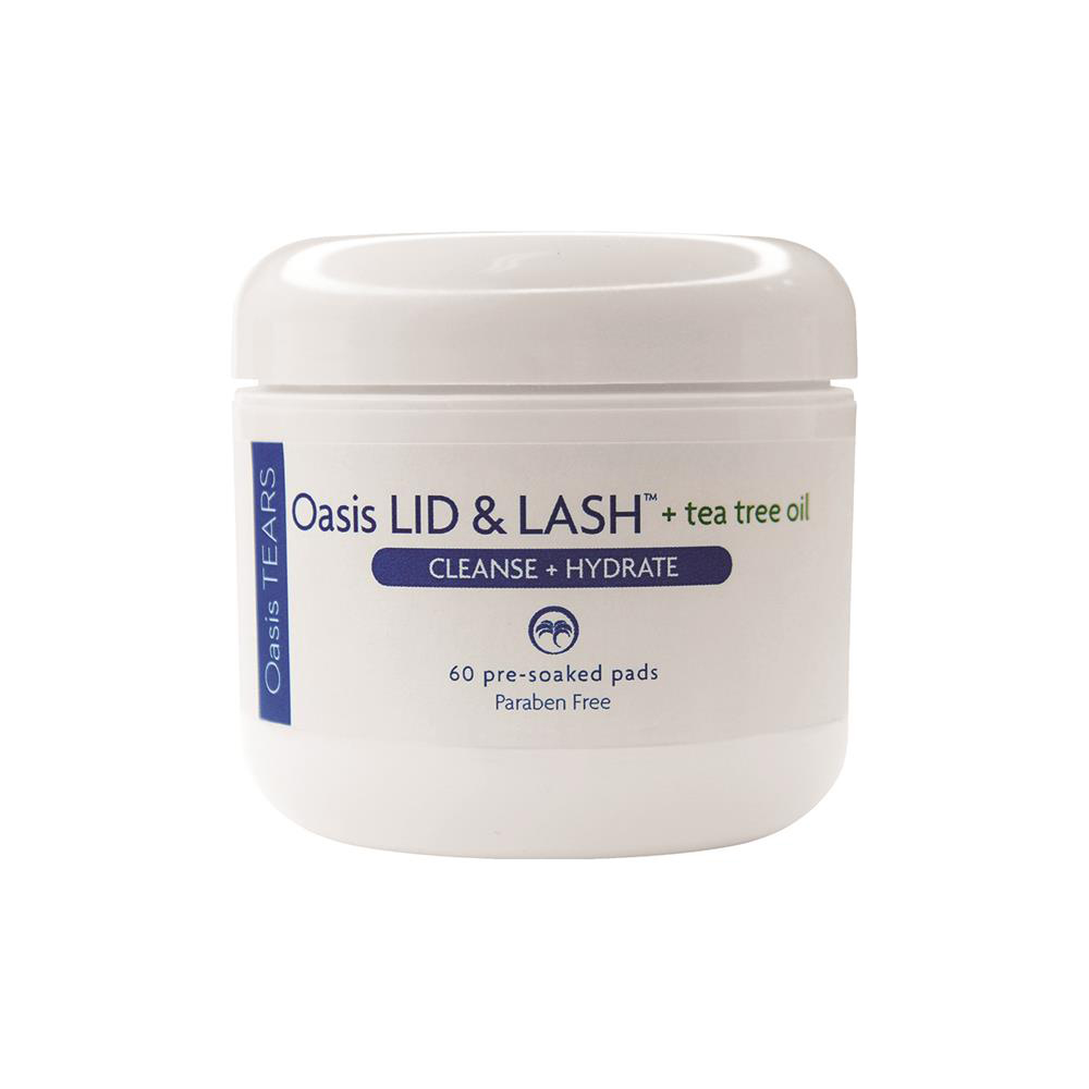 Oasis Daily Lid and Lash Cleansing Pads