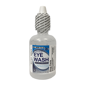 Related Product: Sterile Isotonic Buffered Solution Eye Wash - 1oz