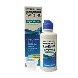 Related Product: Advanced Eye Relief Eye Wash by Bausch & Lomb