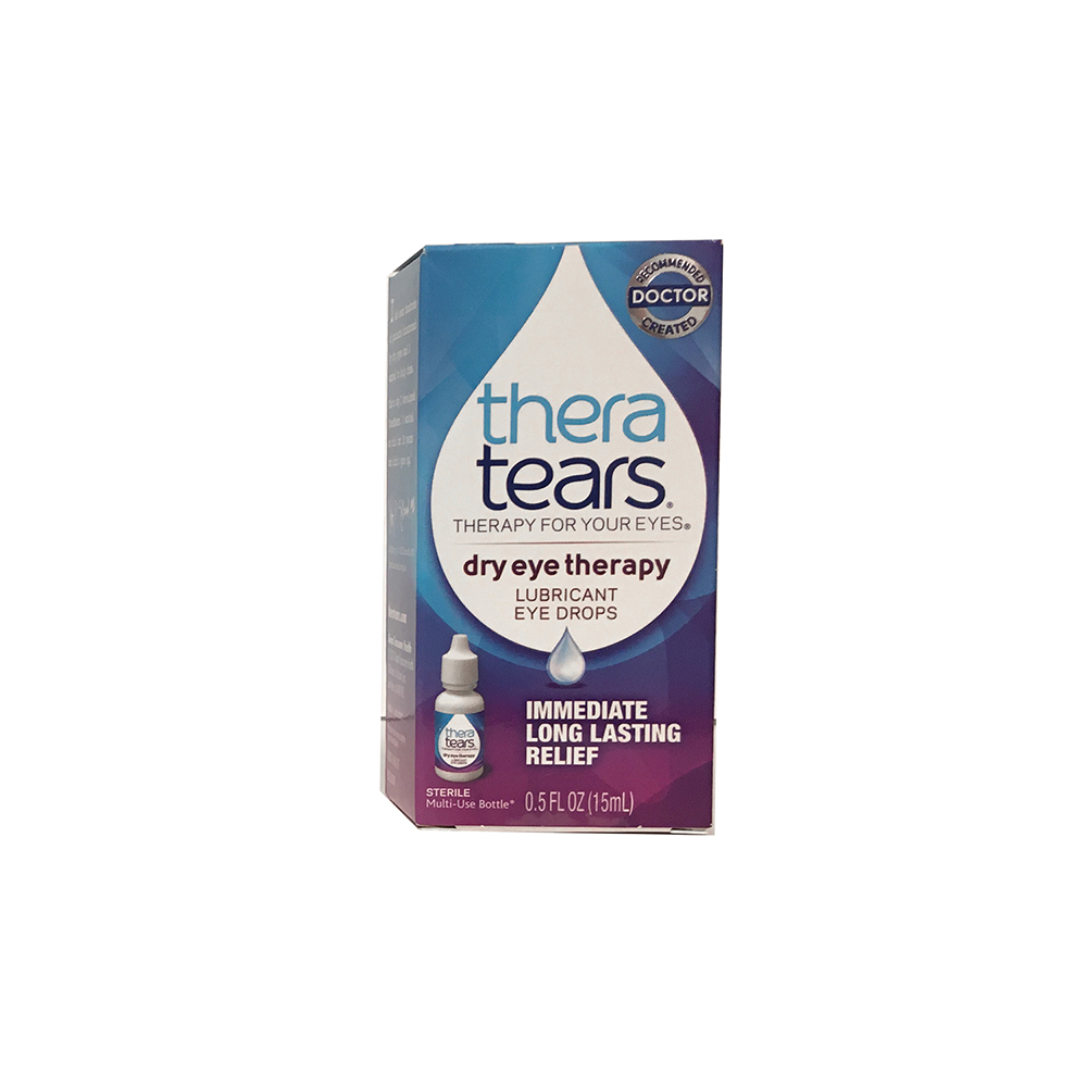 Thera Tears® Lubricant Eye Drops - Bottle