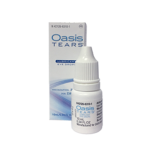 Related Product: OASIS Tears® Multidose - 10mL Lubricating Drops - Preserved