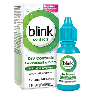 Blink Contacts Lubricating Eye Drops 10mL