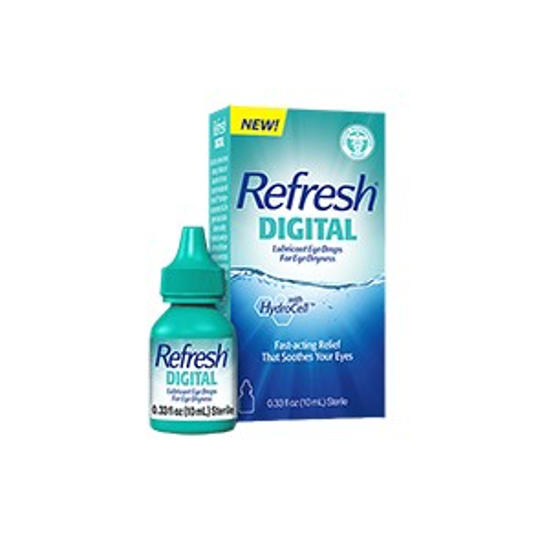 Refresh Digital Lubricant Eye Drops 0.33 fl. Oz (10mL) Sterile