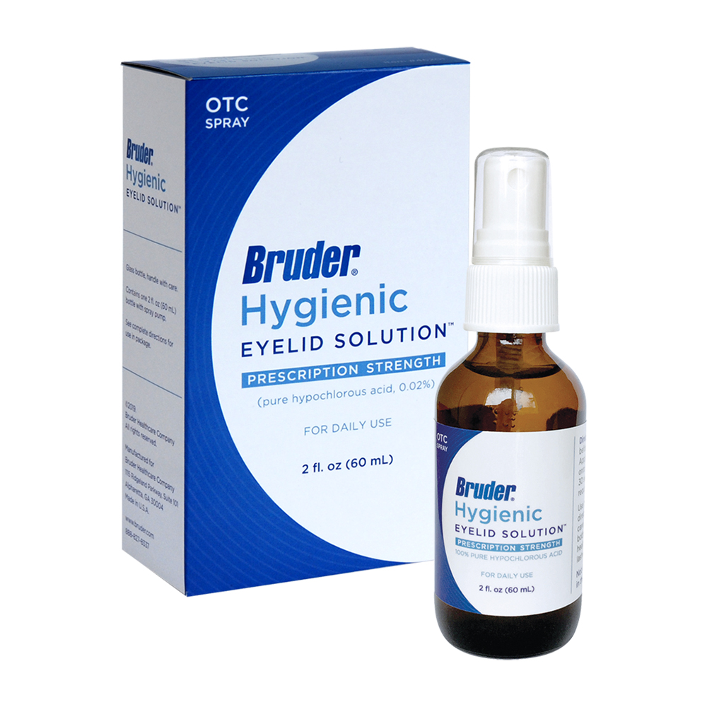 Bruder Hygienic Eyelid Solution - 2oz (60ML)