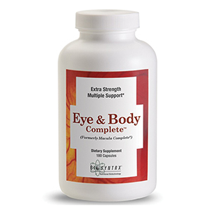 Related Product: Eye & Body Complete by Biosyntrx®