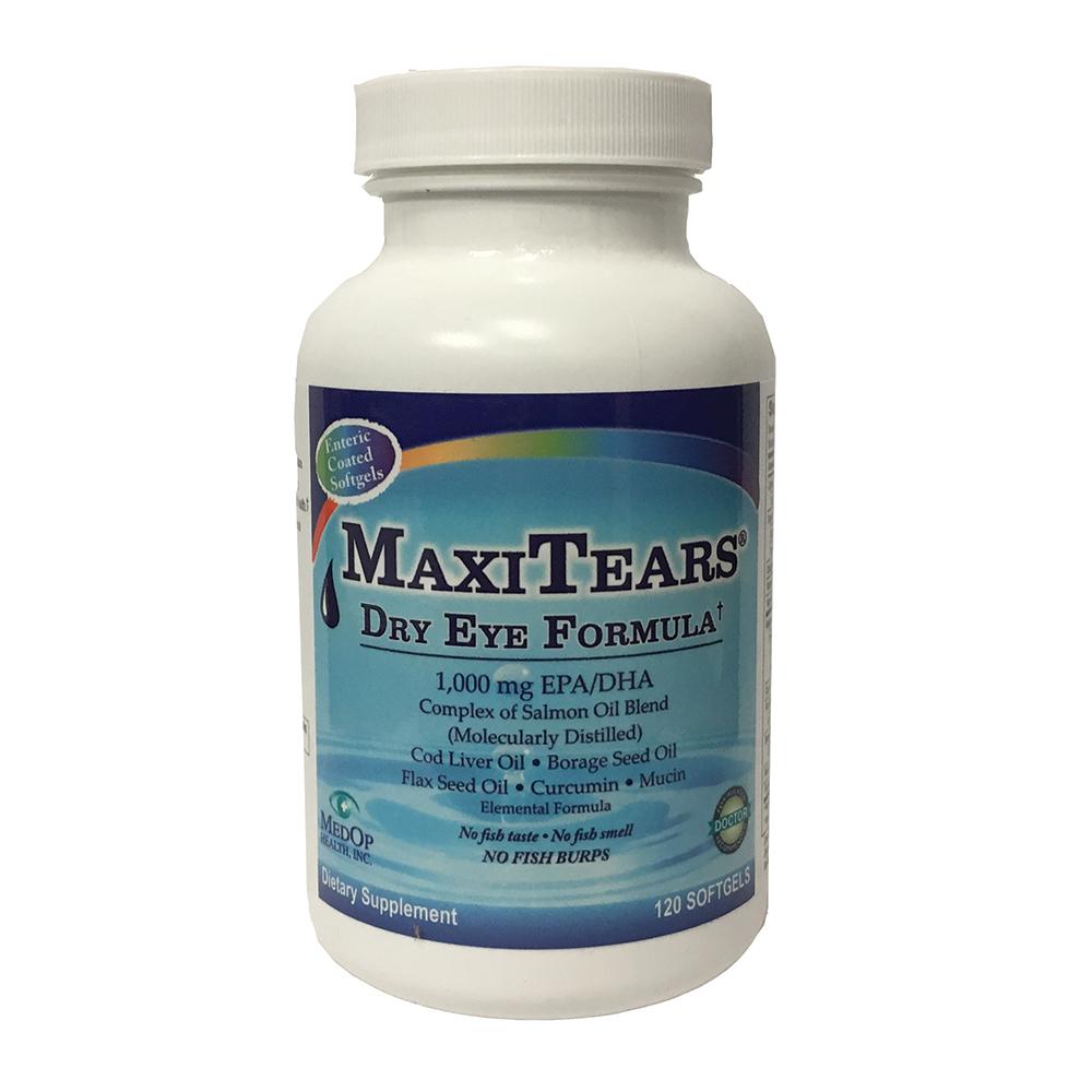Maxitears Dry Eye Formula- 120 capsules
