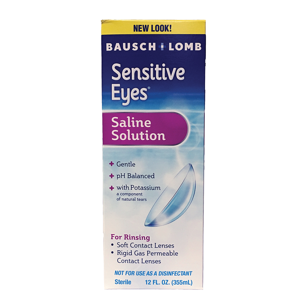 Sensitive Eyes Plus Saline Solution by the case