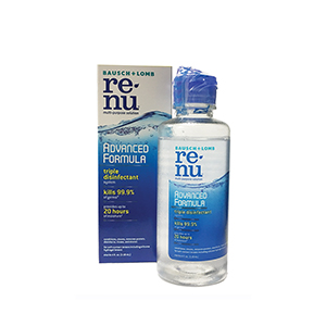 Related Product: ReNu® Advanced Formula Multi-Purpose Solution - 4oz by the case
