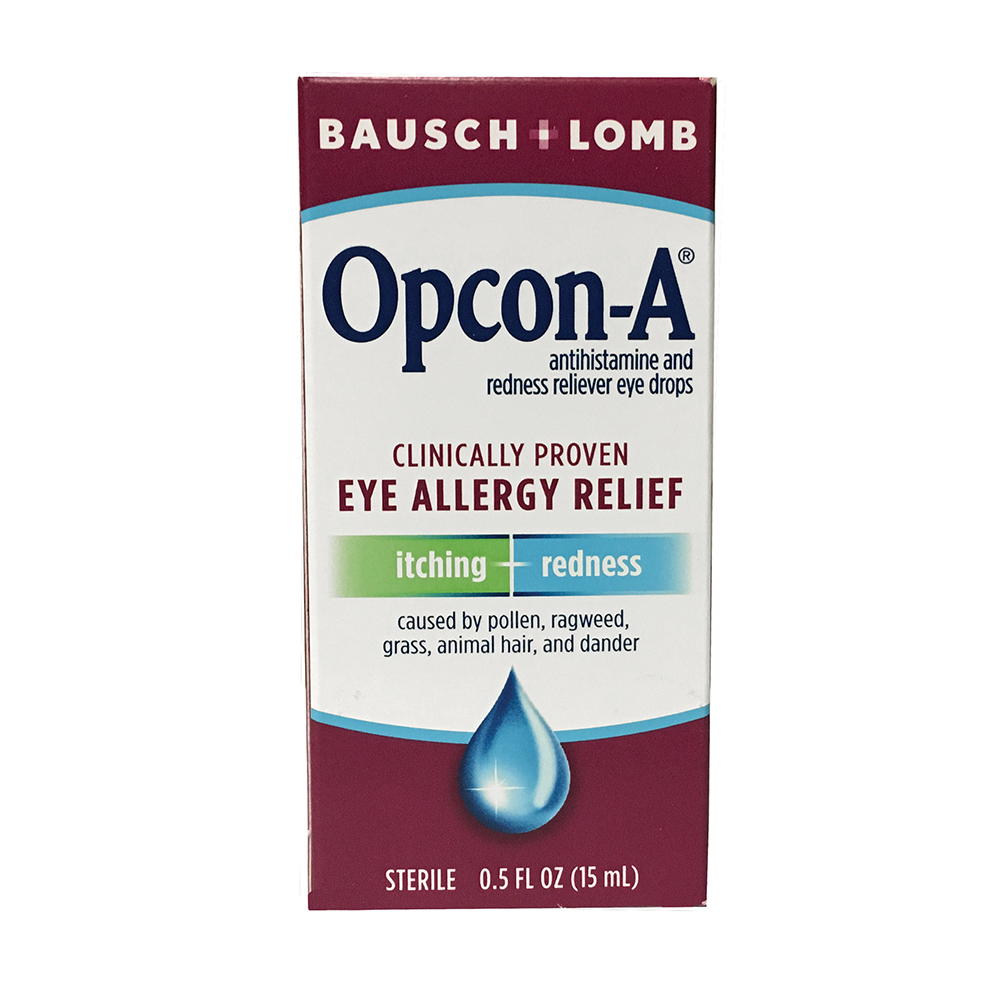 Opcon-A Eye Drops by Bausch & Lomb
