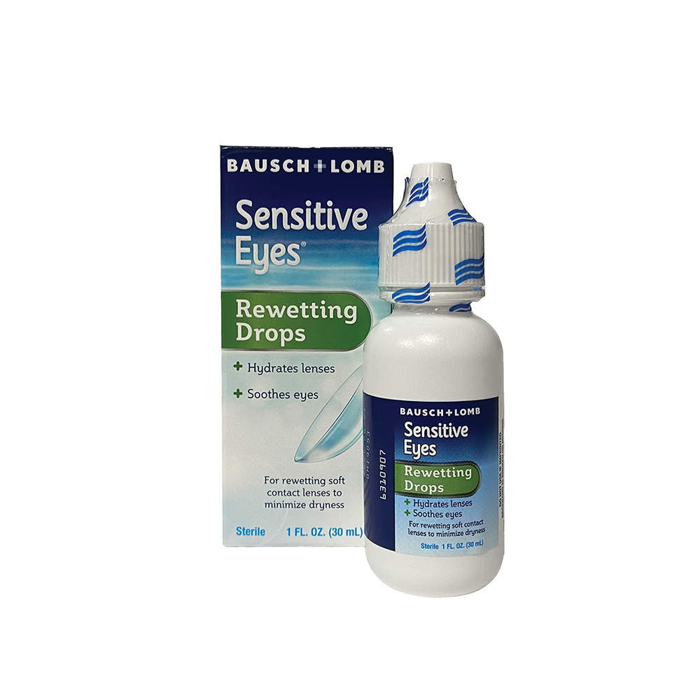 Bausch and Lomb Sensitive Eyes Rewetting Drops (1 oz)