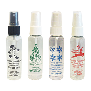 AR KLEEN® Lens Cleaner - 2oz Holiday Designs Personalized