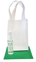Related Product: AR Kleen� 2oz Clear Frosted Bag Lens Cleaning Kit - Personalized Cleaner & Cloth