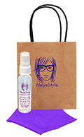 Related Product: AR Kleen� 2oz Kraft Bag Lens Cleaning Kit Personalized  - Imprinted Cleaner & Bag