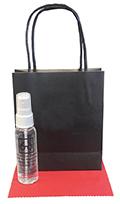 Related Product: AR Kleen 2oz Black Kraft Bag Lens Cleaning Kit - Imprinted Cleaner