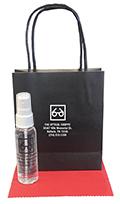 Related Product: AR Kleen 2oz Black Kraft Bag Lens Cleaning Kit - Imprinted Cleaner & Bag