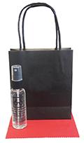 Related Product: AR Kleen 2oz Black Kraft Bag Lens Cleaning Kit - Imprinted Cleaner (BLACK CAP)