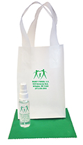 Related Product: AR Kleen® 1oz Clear Frosted Bag Lens Cleaning Kit - Personalized Cleaner  & Bag