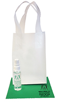 Related Product: AR Kleen� 1oz Clear Frosted Bag Lens Cleaning Kit - Personalized Cleaner & Cloth