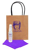 Related Product: AR Kleen® 1oz Kraft Bag Lens Cleaning Kit Personalized Cleaner & Bag