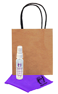 Related Product: AR Kleen� 1oz Kraft Bag Lens Cleaning Kit Personalized Cleaner & Cloth