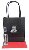 Related Product: AR Kleen 1oz Black Kraft Bag Lens Cleaning Kit - Imprinted Cleaner  & Bag (BLACK CAP)