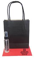 Related Product: AR Kleen 1oz Black Kraft Bag Lens Cleaning Kit - Imprinted Cleaner  & Cloth (BLACK CAP)
