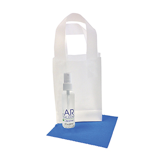 AR Kleen® 2oz Clear Frosted Bag Lens Cleaning Kit
