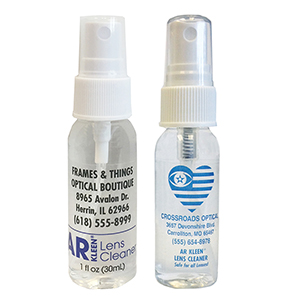 AR Kleen® Lens Cleaner 1oz spray bottle - Personalized