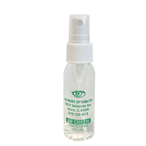 AR Green Lens Cleaner 1oz spray bottle - Personalized
