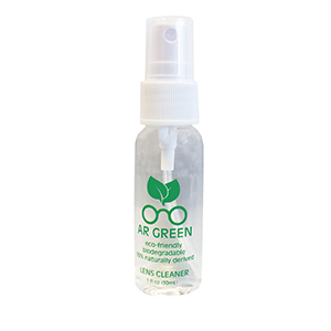 AR Green Lens Cleaner 1oz spray bottle - Non-personalized