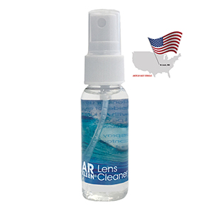 AR KLEEN® - 1oz Multi-Purpose Lens Cleaner - Reverse Graphic Label, Non-personalized
