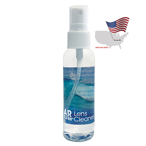 AR KLEEN® - 2oz Multi-Purpose Lens Cleaner - Reverse Graphic Label, Non-personalized