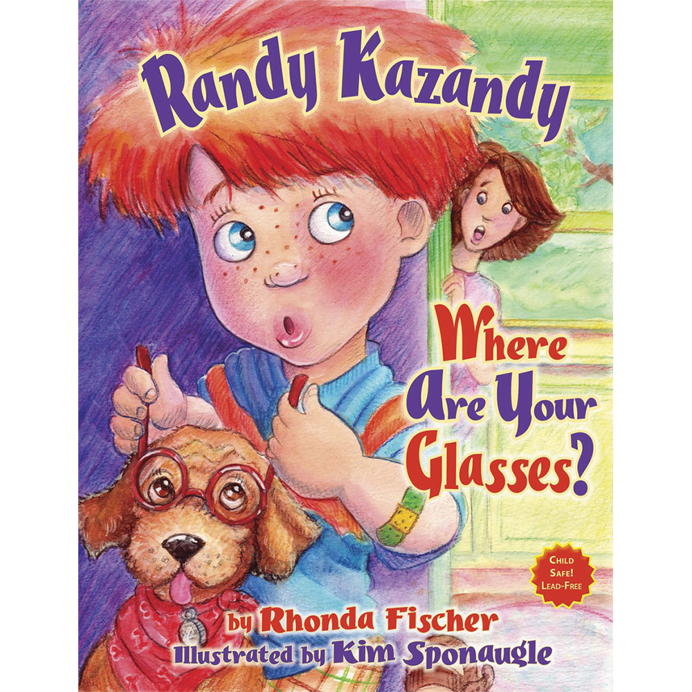 "Book: ""Randy Kazandy, Where are Your Glasses?"