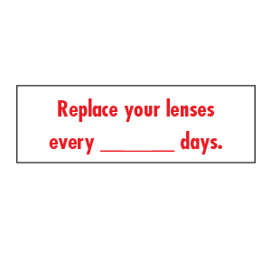Stickers - Replace Your Lenses