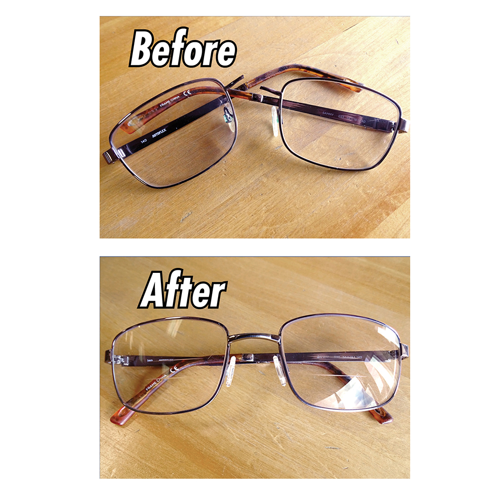 Eyeglass Frame Repair Service - Custom: Eyeglass Repair: Laboratory ...