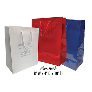 Personalized Euro Tote Bags - Tall, Gloss Finish