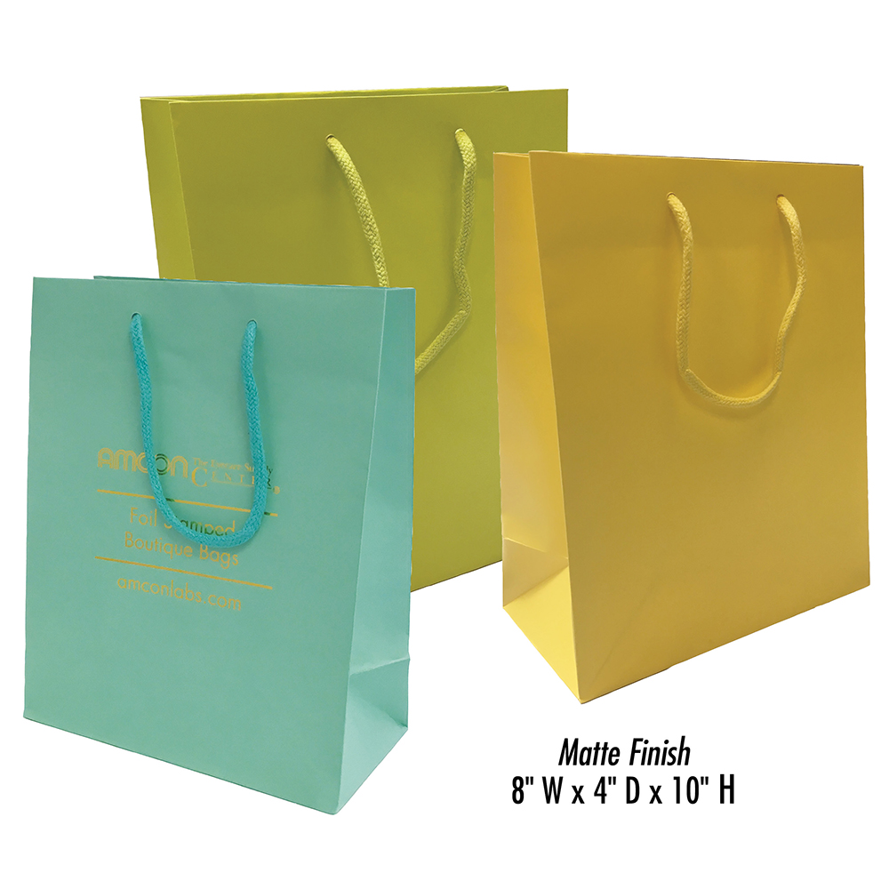 Bags TallMatte Tote Euro FinishOffice Personalized Supplies DI9eEH2WY