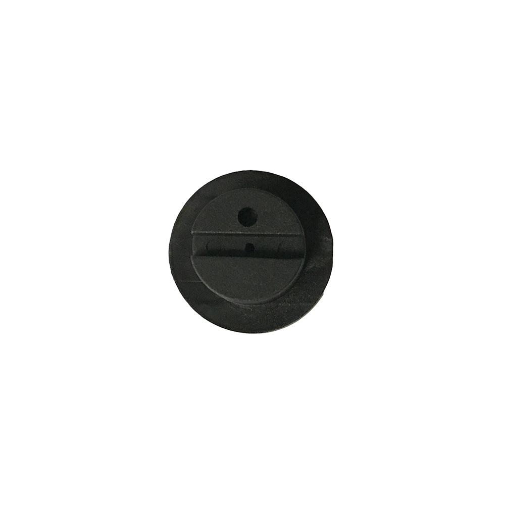 Lens Edging Block - Santinelli, Graphite