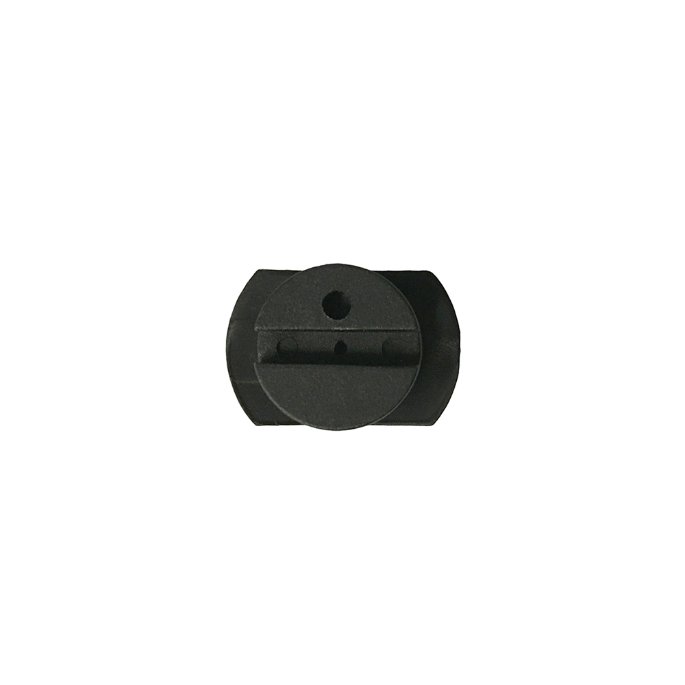 Lens Edging Block - Santinelli, Graphite 1/2 Eye