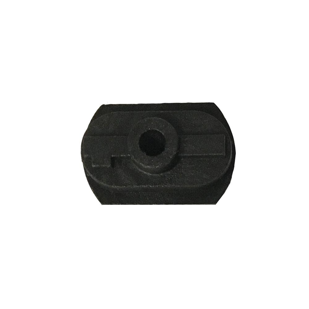 Lens Edging Block - AIT, Graphite 1/2 Eye