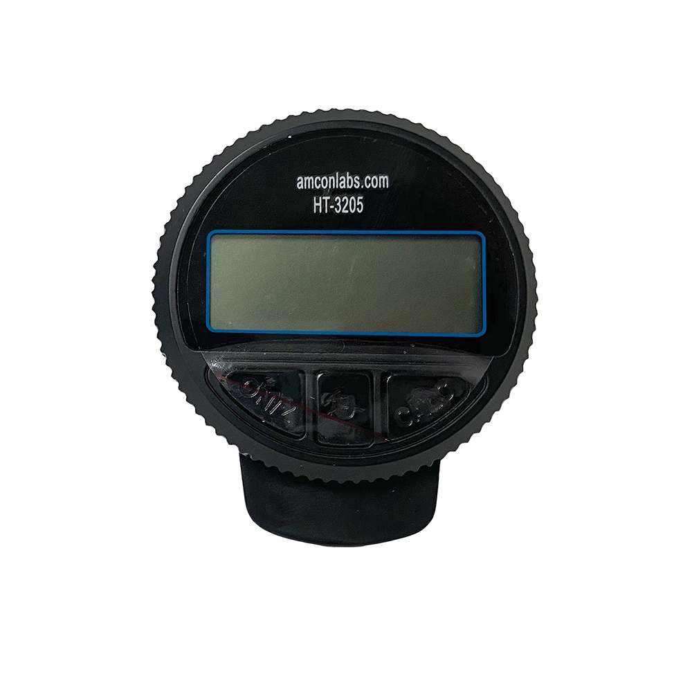 Digital Lens Clock